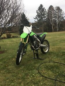 two kx250f's trade for a fourwheeler