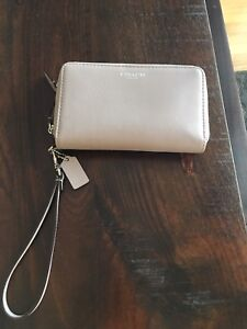 Coach Leather Phone Wallet/Clutch