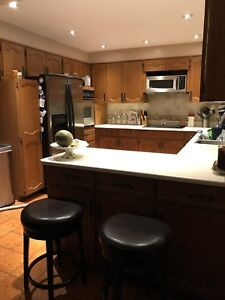 Kitchen cabinets,and appliances