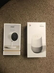 *GOOGLE HOME*NEST IQ 1080P IP INDOOR CAMERA COMBO SET-BRAND NEW