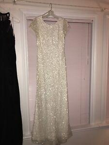 David's Bridal wedding/prom dress