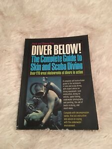 Diver Below large paperback from 1973