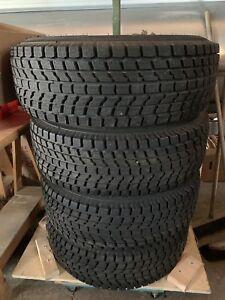Set of winter rims and tires