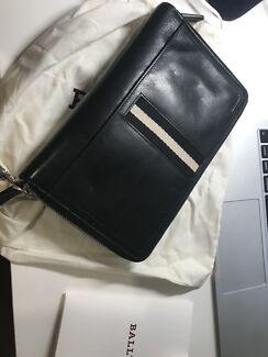 Bally zip around wallet/ clutch