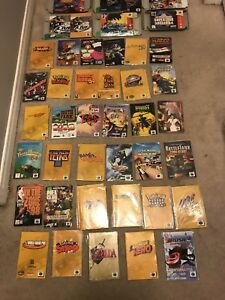 Nintendo 64 boxes and manuals for sale/trade