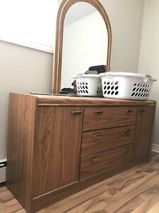 Dresser and matching night stand