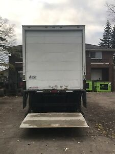 26 foot dry box aluminum 3000lbs lift gate