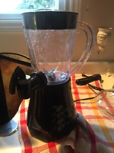 Hamilton beach iced beverage and food processor