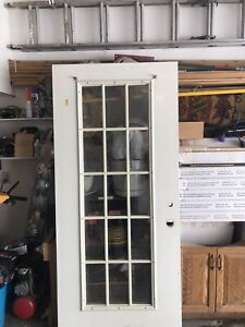 Exterior French entry door
