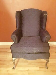 Antique reading chair