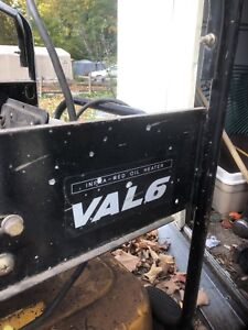 Infa red duel fuel space heater valv 6