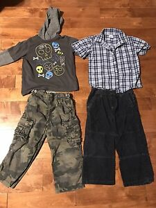 8 piece lot of toddler boy's clothes size 4T
