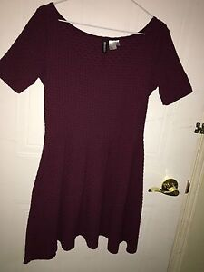 Maroon Dress from H&M