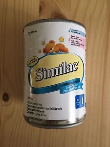 Lait Similac faible en fer