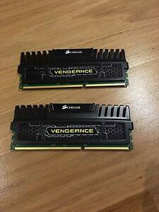 2x 4GB Vengeance Ram Sticks 1600MHZ Rowville Knox Area Preview