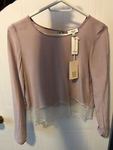 Aritzia - Wilfred Desaix Blouse - xxs - brand new