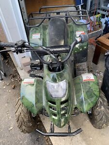 Kids 6+ Four Wheeler (not a toy)Camouflage in colour