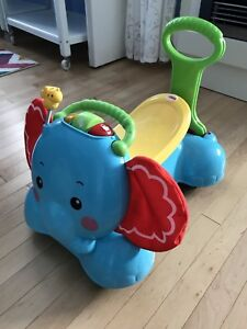 3 in 1 Bounce/Stride/Ride Elephant