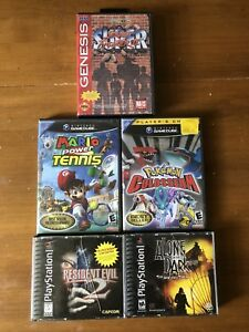 GameCube/PS1/Genesis games