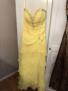Size 6 grad dress for sale