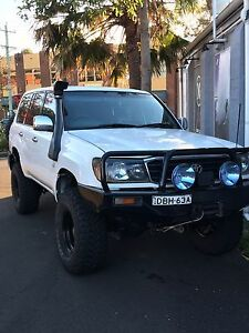 Locked landcruiser 105 series turbo diesel Dapto Wollongong Area Preview