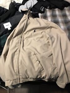 Men's size small polo jacket
