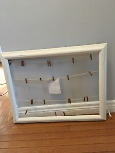 Seating chart or frame for hanging pictures