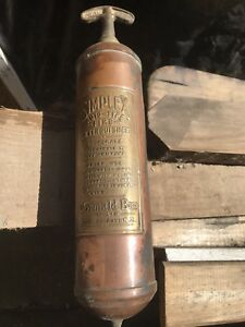 Very Old Br Fire Extinguisher