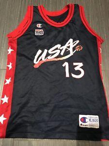 Vintage Champion Shaq O'Neal Dream Team USA Basketball Jersey