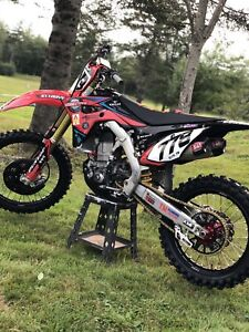 2018 Honda crf 450. *Lots of extras * Asking $9000 obo