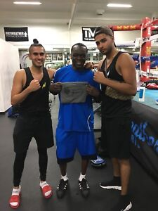 Train with the BEST!! Top rank BOXER!! MAYWEATHER affiliated!
