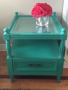 Gorgeous retro table painted in Annie Sloan  Florence