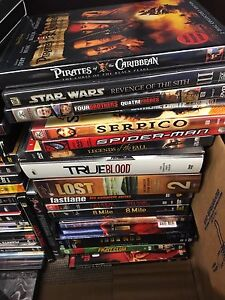 Box of DVDS London Ontario image 3