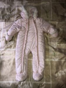 Girl's Snowsuit (9-12 months)