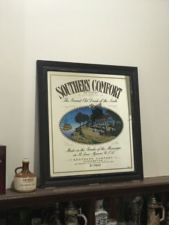 Framed mirrored  Southern Comfort