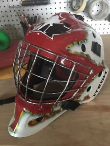 I tech Senior XL Goalie Mask Helmet