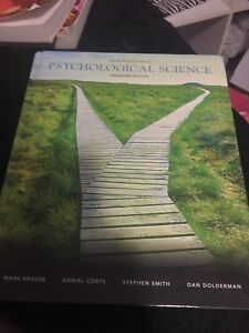 Introduction to Psychological Science First Canadian Edition