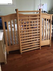 Crib and matress