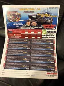 Paint Ball Coupons