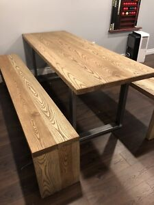 Custom Tables for home or restaurant. Countertop