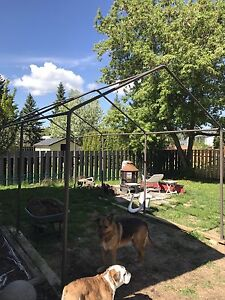 Selling a Costco pole shed