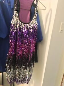 Sequence party dress - size m/L