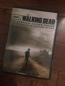 The walking dead (The complete second season) DVD