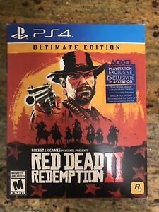 Red Dead Redemption 2 (PS4) Ultimate Edition