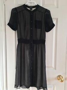 Club Monaco Chiffon Dress Size XS  New Condition