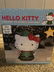 Inflatable Xmas hello kitty