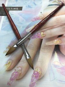 acrylic nails brush #14 #18 professional nail supply