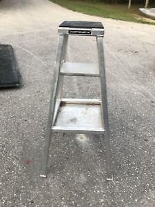Aluminum bike stand, custom made for 50cc motorcycles
