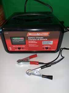 MotoMaster 10/2A Automatic Battery Charger