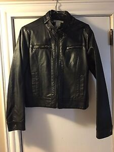 Women's Faux Leather jacket size Medium